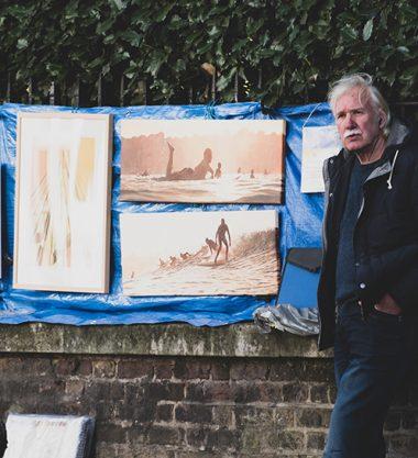 Bayswater Road Art Market